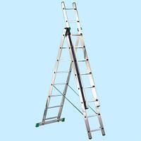 Универсальная лестница SVELT UNIVERSAL NEW 3×7 STEPS (3.99 м)