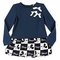 Платье трикотажное Disney для девочки 98,116р.