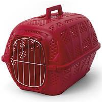 Imac Carry Sport АЙМАК КЭРРИ СПОРТ переноска для собак и кошек, пластик, 48,5х32х34,5 см, красный