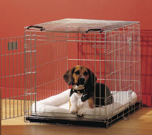 Savic ДОГ РЕЗИДЕНС (Dog Residence) клетка для собак, цинк, 50Х33Х40 см (про скидку узнавайте у менед