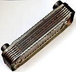 Теплообменник ГВС пластинчатый, 12 пластин, соединение - резьбовое, L=148 мм, код сайта 4096, фото 3