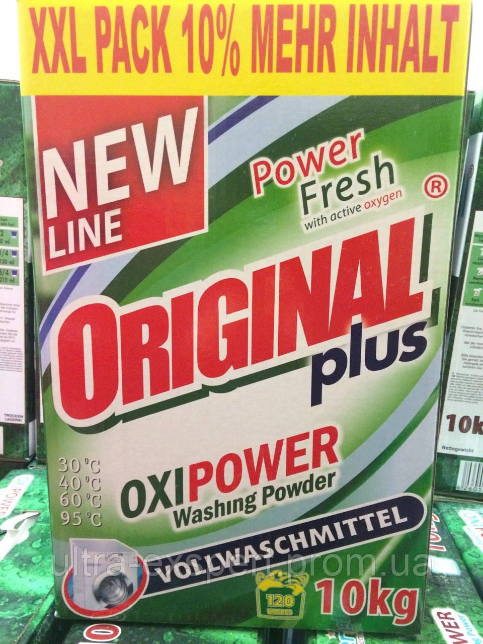 """Бесфосфатный стиральный порошок Original Plus (Оригинал) 3 кг,  универсальный,Германия - ТОВ """"Компания КАВА"""" в Днепре"""