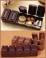 """Таблетница """"Шоколадный батончик"""""""
