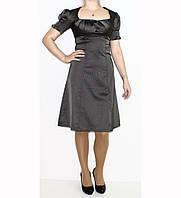 Платье из атласа для женщин р. 42   арт. №1(Фонарик)