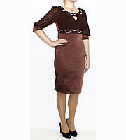 Платье вискоза+полиамид+эластан для женщин р. 42   арт. 12382 Турция