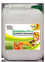 Лепидоцид-БТУ биоинсектицид для защиты растений 5литров, БТУ-центр