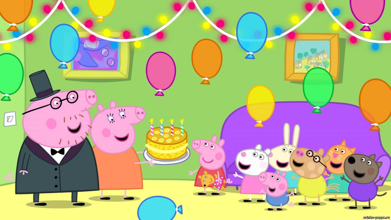 Вафельная картинка на торт Свинка Пеппа 4: продажа оптом и ...