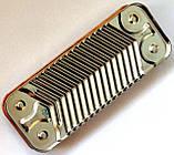 Пластинчастий теплообмінник ГВП, 12 пластин, з'єднання - шліцьове, L=154 мм, код сайту 4097, фото 5