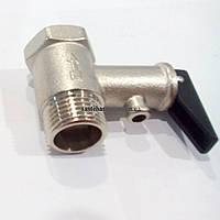 Клапан для бойлера спускной с рычагом 1/2 8,5 bar ANGO