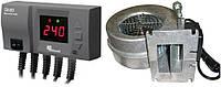 Блок управления KG ELEKTRONIK CS-20 + вентилятор WPA-120 для твердотопливных котлов, фото 1