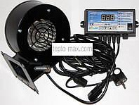 Комплект автоматики к котлу блок управления Nowosolar PK-22 + вентилятор NWS-75, фото 1