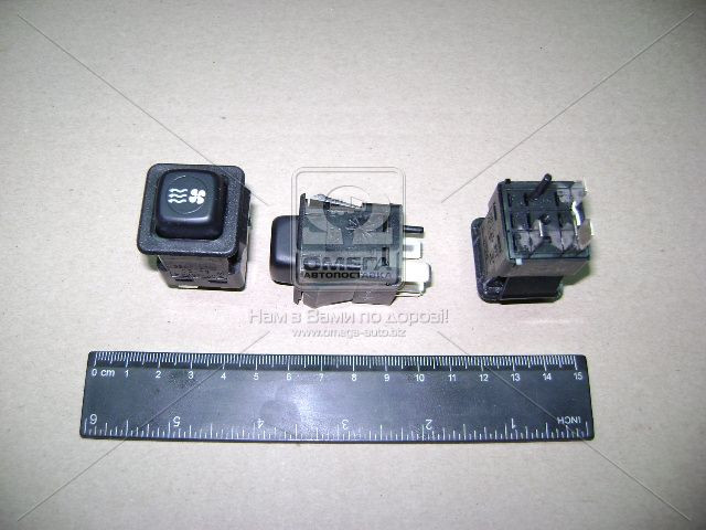 Выключатель отопителя ГАЗ 3307 (покупн. ГАЗ). 3842.3710.000-06М