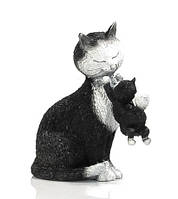 "Статуэтка кошки с котенком ""Счастливое время"" Parastone DUB 33"