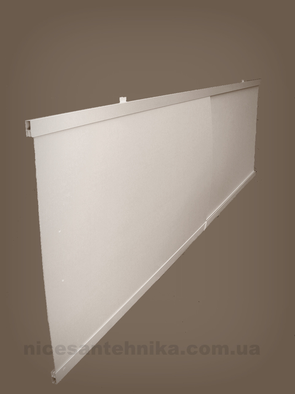 Экран под ванну алюминиевый 170*55 см. ЕВА-1