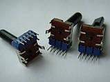 Потенциометр ALPS 104b  (b100k)  23mm для пультов, фото 4