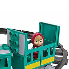 """Конструктор «BIG» (57095) железная дорога Маши """"Маша и Медведь"""", 32 элемента, фото 3"""