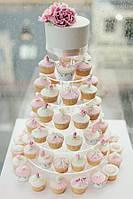 Торт (пирамида) из капкейков