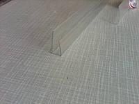 П-образный поликарбонатный профиль 4 мм