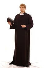 Священник мужской карнавальный костюм / BL - ВМ50