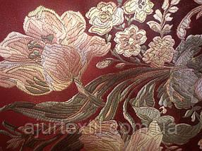 """Штора Жаккард """"Цветы"""" №5, фото 2"""