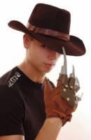 Набор Фреди Крюгера шляпа + перчатки