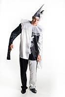 Пьеро мужской карнавальный костюм
