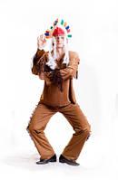 Индеец мужской карнавальный костюм / BL - ВМ22