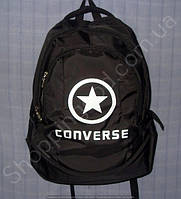 Рюкзак Converse 114030 черный спортивный школьный на три отдела размер 30 см х 44 см х 23 см объем 30 л