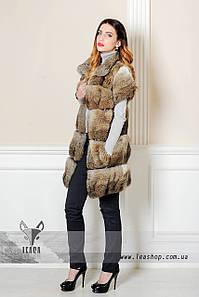 Меховой жилет из кролика от leashop.com.ua