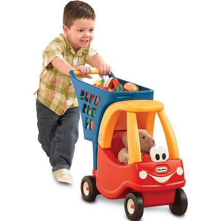 Тележка для продуктов с коляской для кукол Little Tikes 618338, фото 2