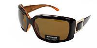 Мужские очки солнцезащитные polaroid в черной оправе