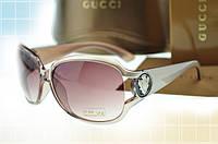 Солнцезащитные очки в стиле GUCCI 3043 (цвета шампань)