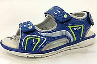 Босоножки детские Tom.M 8508F синие для мальчика на липучках р.26