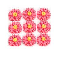 Кабошоны Розовые ромашки 13 мм 1 шт