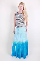 Оригинальная женская летняя длинная юбка