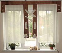 Комплект гардин коричневый Хай-тек, фото 1