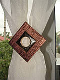 Комплект гардин коричневый Хай-тек, фото 6