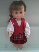 """Кукла """"МИЛАНА ШКОЛЬНИЦА"""" (40 см) B203"""