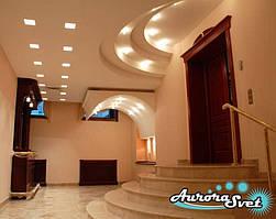 Домашнее освещение. LED освещение. Светодиодная подсветка помещений. LED подсветка зданий.