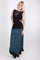 Недорогая стильная женская летняя юбка