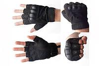 Тактические перчатки Оakley Короткопалые чёрный, L