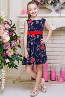 Детское платье BR-30 Принт 2