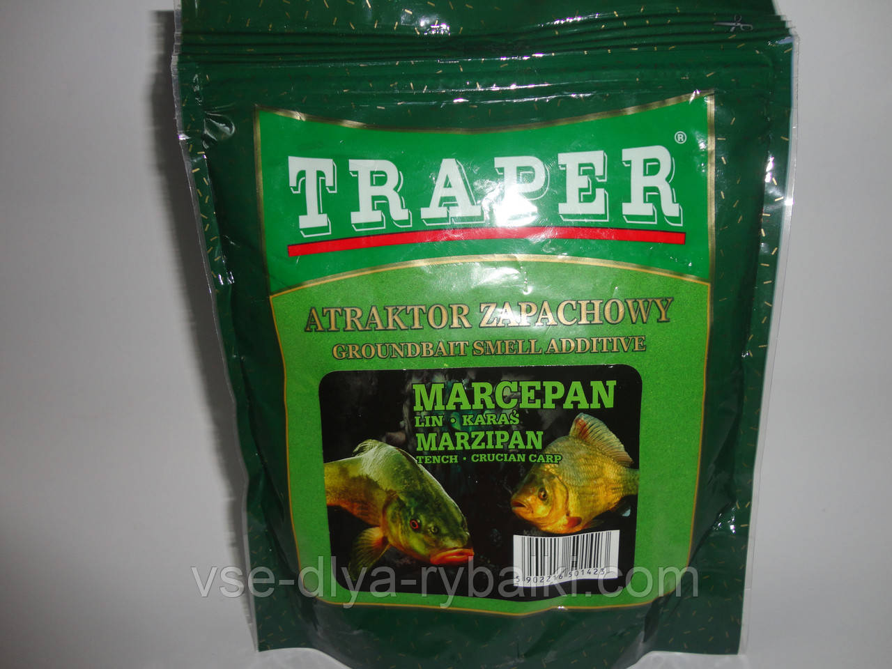 Аттрактант сухой Traper 250гр (марцепан)
