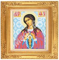 Схема вышивки икон «Пресвятая Богородица Помошница в родах» ВШ,140х150,Габардин,Арт.М-10 /05-8