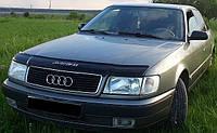 Дефлектор на капот (мухобойки) Audi 100 ( 45кузов С4) 1990-1994