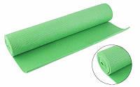 Коврик для фитнеса зеленый
