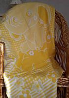 Детское одеяло байковое Слоник 100х140