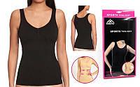 Майка женская для фитнеса корректирующая Thin vest