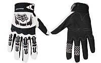 Мотоперчатки мужские для города текстильные Fox