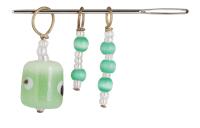 Маркеры петель (3 шт) ZOONI Grape green KnitPro